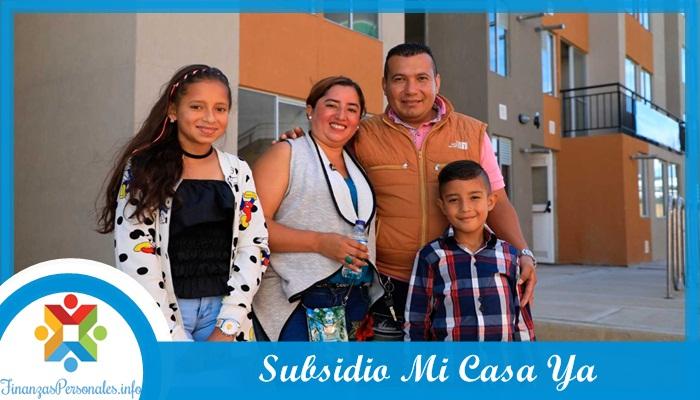 Subsidio Mi Casa Ya