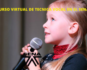 Curso Virtual de Tecnica Vocal en el SENA